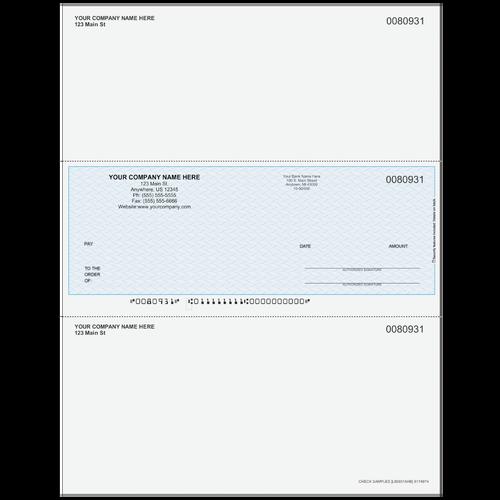L80931A - Multi-Purpose Middle Business Check