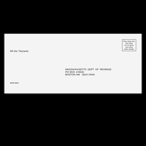 MAEST10 - Estimate Envelope - Massachusetts