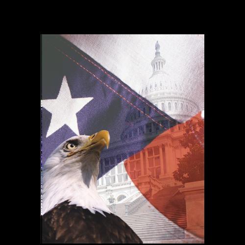 TAXCVR3N - Patriotic Folder (no Pockets)