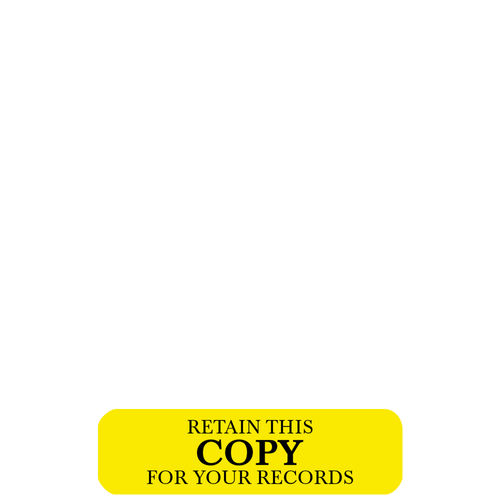 RT418 - RediTag Retain Copy Yellow