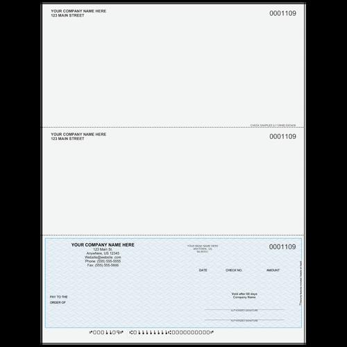 L1109 - Multi-Purpose Bottom Business Check