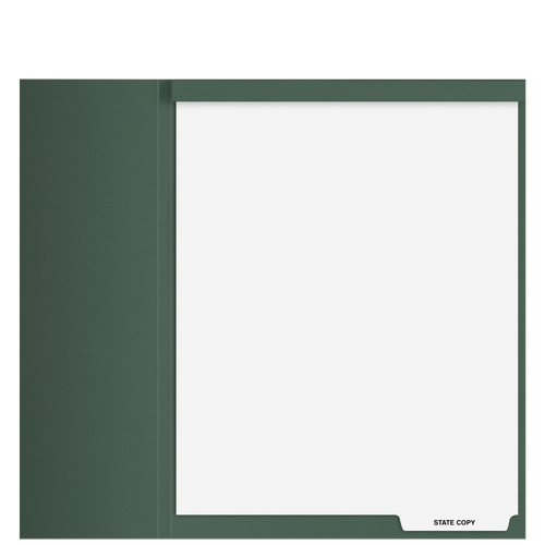 TB103T - 'State Copy' Top Staple Index Tab Divider