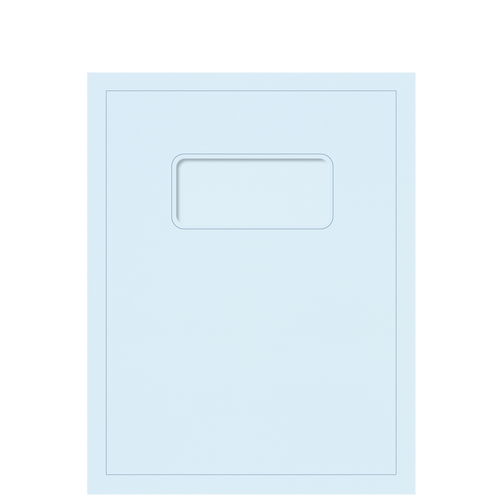 RCBLU10 - Light Blue Report Folder
