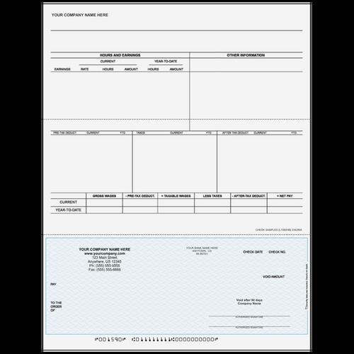 L1590 - Payroll Bottom Business Check