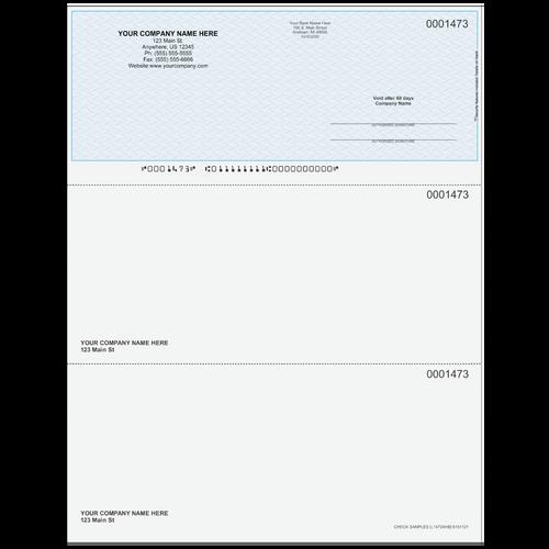 L1473A - Multi-Purpose Top Business Check