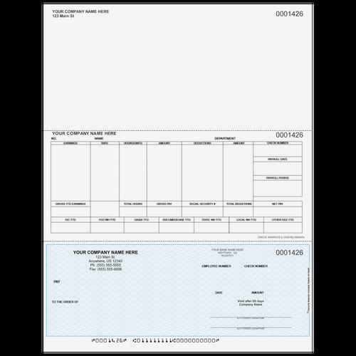 L1426 - Payroll Bottom Business Check