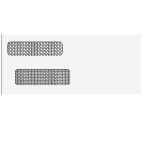 ENV9903 - #9 Double Window Envelope (Self Seal)