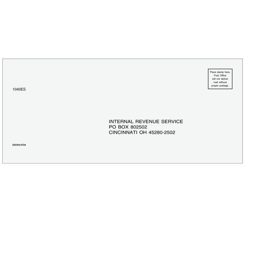 ESOH210 - 1040-ES Envelope - Cincinnati, OH