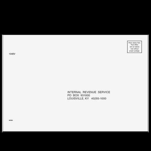 VKY6110 - 1040-V Envelope - Louisville KY