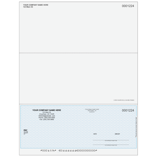 L1224 - Multi-Purpose Bottom Business Check