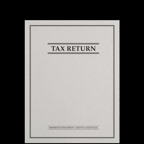 FL42XX - Tax Return Side Staple Stone Folder