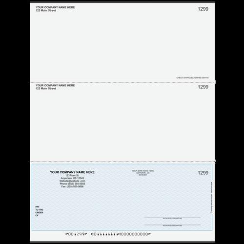 L1299 - Multi-Purpose Bottom Business Check