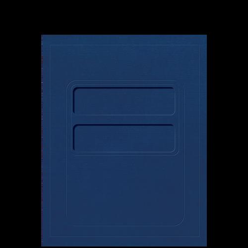 CFOLDERXX - Double Window Debossed Folder