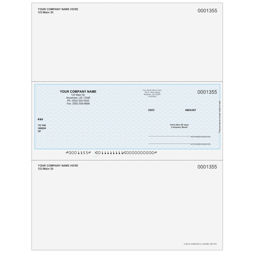L1355 - Multi-Purpose Middle Business Check