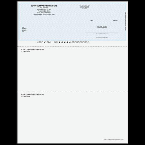 L1354A - Multi-Purpose Top Business Check