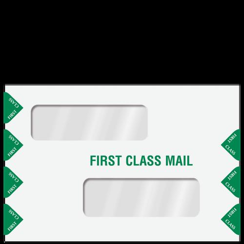 ENV300PS - Double Window Tax Return Filing Envelope (Peel & Close)
