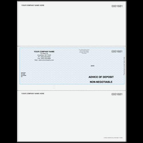L1681 - Advice of Deposit Middle