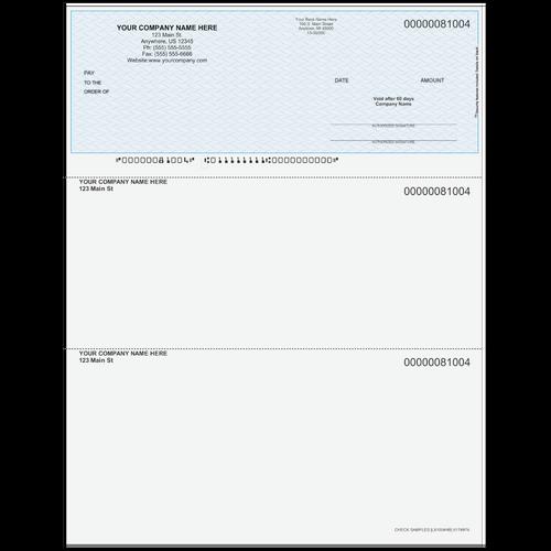 L81004 - Multi-Purpose Top Business Check