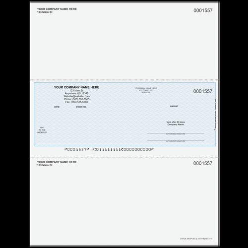 L1557 - Multi-Purpose Middle Business Check