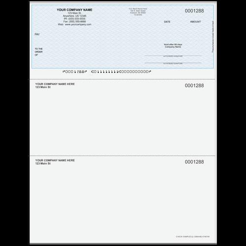 L1288A - Multi-Purpose Top Business Check