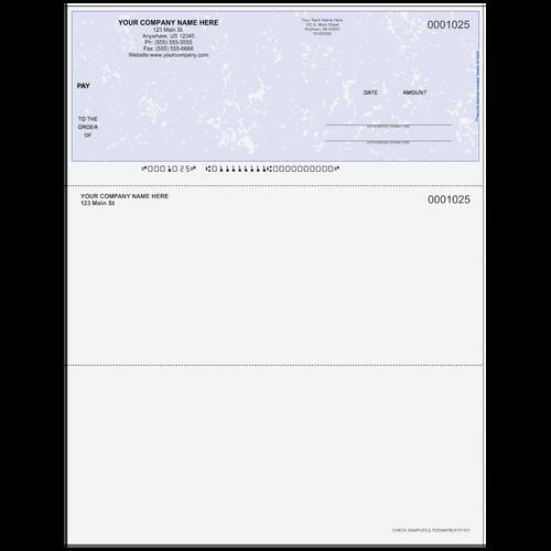L1025A - Multi-Purpose Top Business Check
