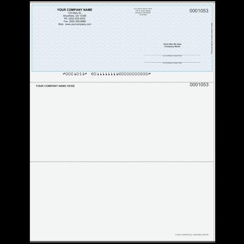 L1053D - Multi-Purpose Top Business Check