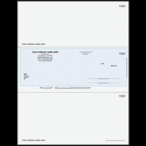 L1569 - Multi-Purpose Middle Business Check