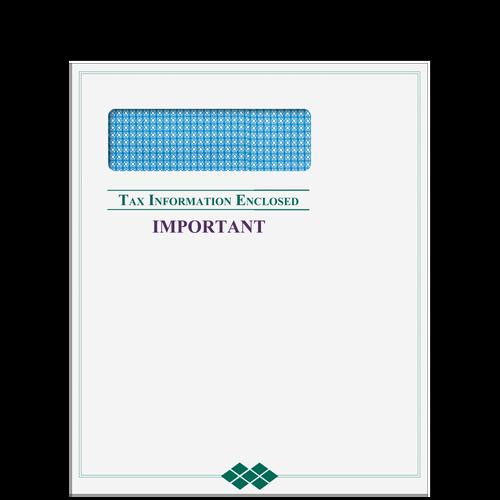 80919 - Single Window Tax Information Enclosed Envelope (Peel & Close)