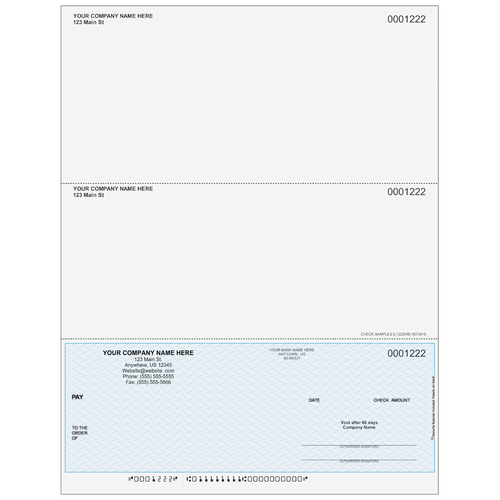 L1222 - Multi-Purpose Bottom Business Check