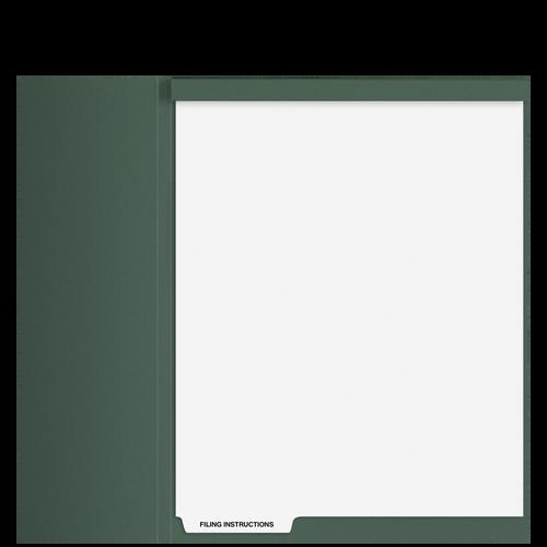 TB101T - Index Divider - Filing Instructions (Top)