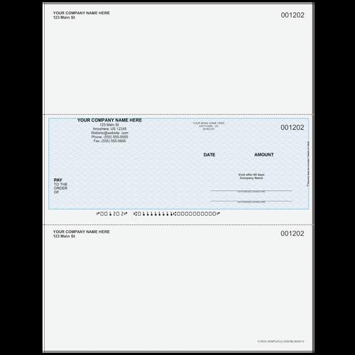 L1202 - Multi-Purpose Middle Business Check