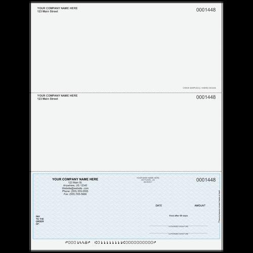 L1448 - Multi-Purpose Bottom Business Check