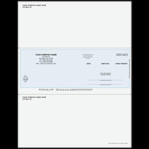 L1423 - Multi-Purpose Middle Business Check