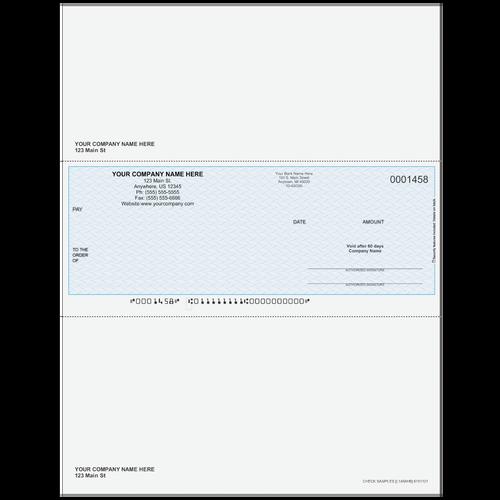 L1458 - Multi-Purpose Middle Business Check