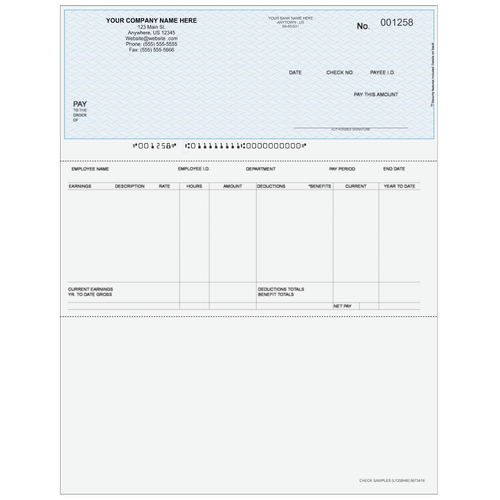 L1258 - Payroll Top Check
