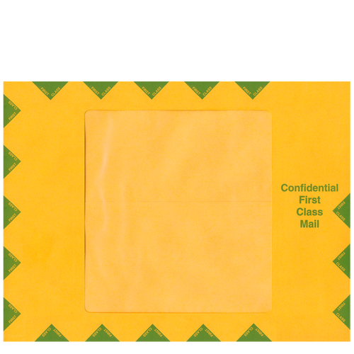 80130 - Confidential First Class Mailing Envelope