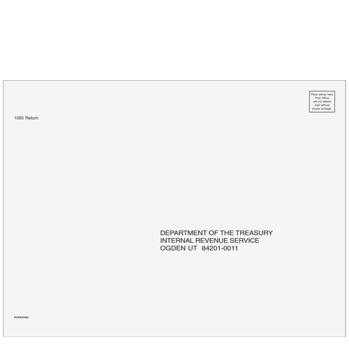 FUTP910 - 1065 Envelope - Ogden, UT