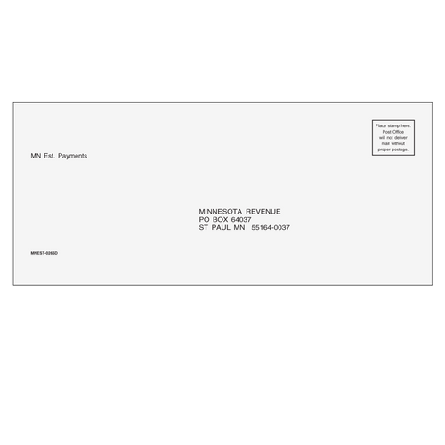 MNEST10 - Estimate Envelope - Minnesota