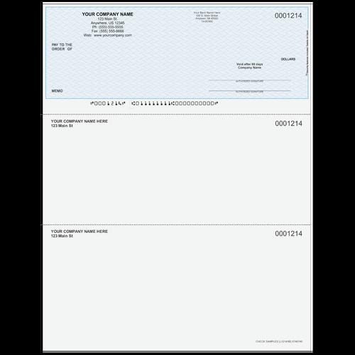 L1214 - Multi-Purpose Top Business Check