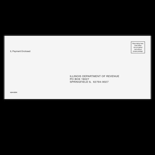 ILB410 - Balance Due Envelope - Illinois
