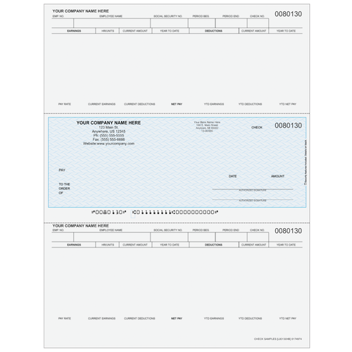 L80130 - Payroll Middle Business Check