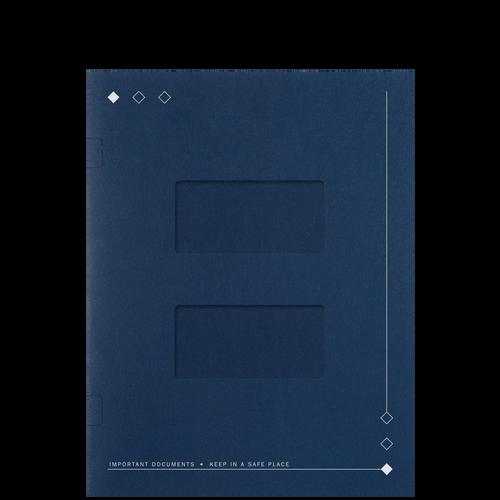 LA20XX - Side-Staple Folder with Large Windows