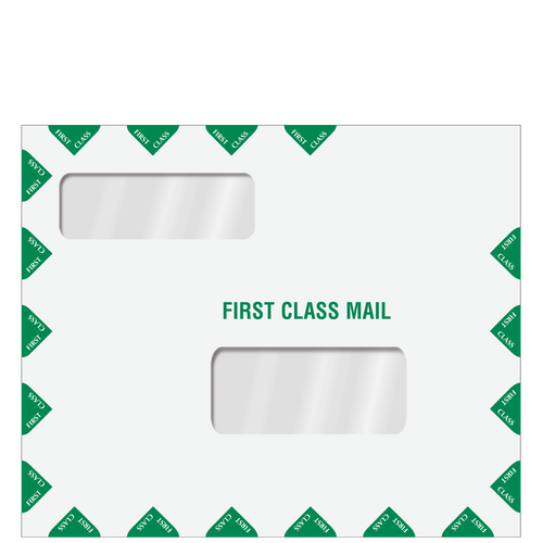 80737 - Double Window Tax Return Mailing Envelope