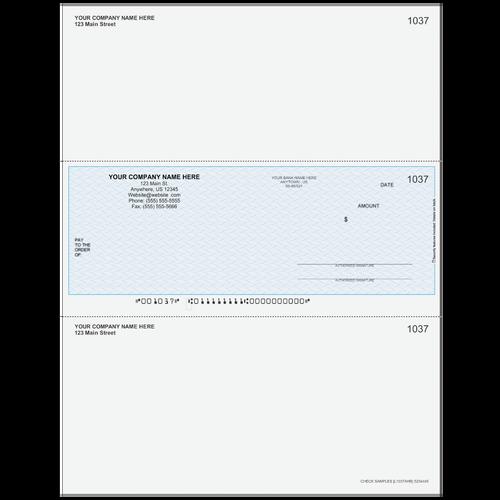 L1037A - Multi-Purpose Middle Business Check