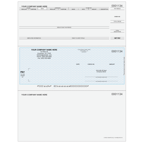 L1134 - Payroll Middle Business Check