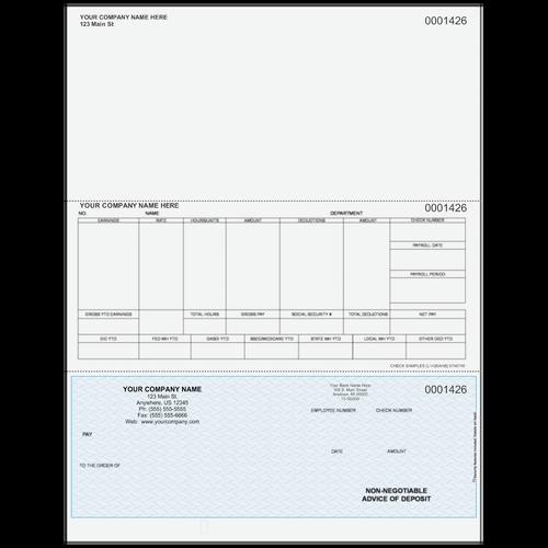 L1426A - Advice of Deposit Bottom