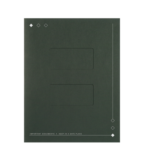 LA60XX - Top-Staple Folder with Large Windows
