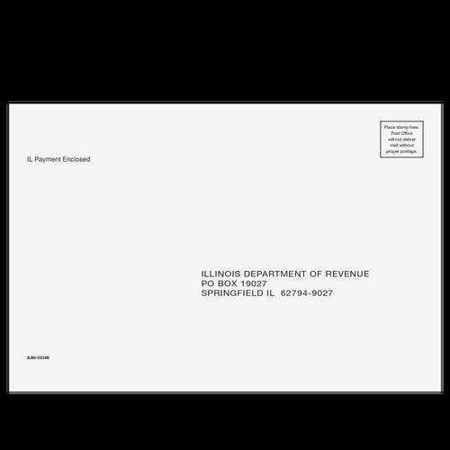 ILB610 - Balance Due Envelope - Illinois