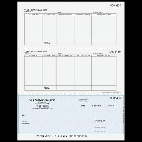L1480 - Accounts Payable Bottom Check