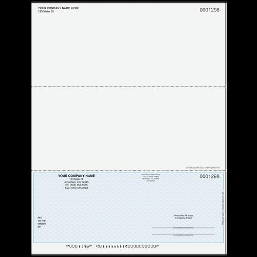 L1298 - Multi-Purpose Bottom Business Check